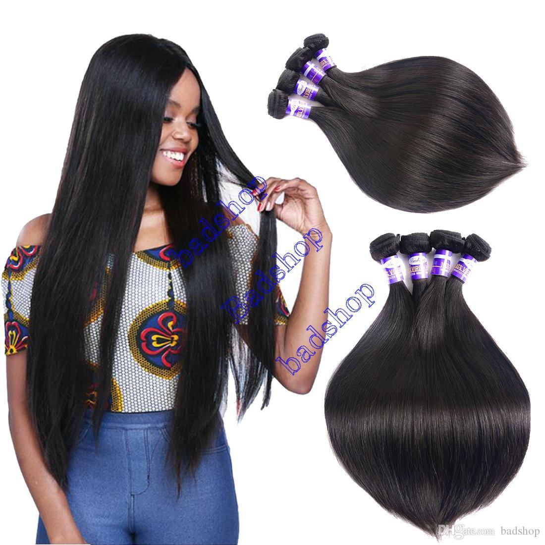 Grade 8a Brazilian Straight Hair Weave 100 Unprocessed Brazilian
