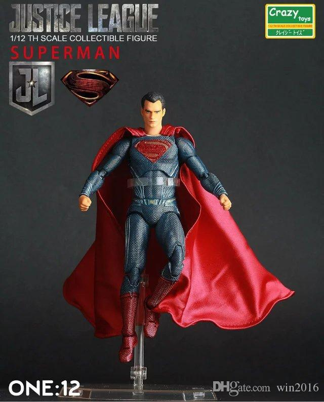 Best Justice League Toys And Action Figures For Kids : Best justice league superman th scale collectible