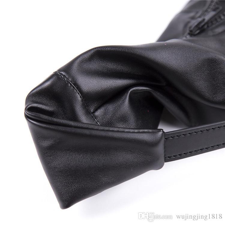 Schiavo del cane schiavo piedi Bondage Restraint Scarpe in pelle Gioco adulti BDSM Gear Giocattoli del sesso le donne Fetish Ankle Cuffs Giocattoli erotici