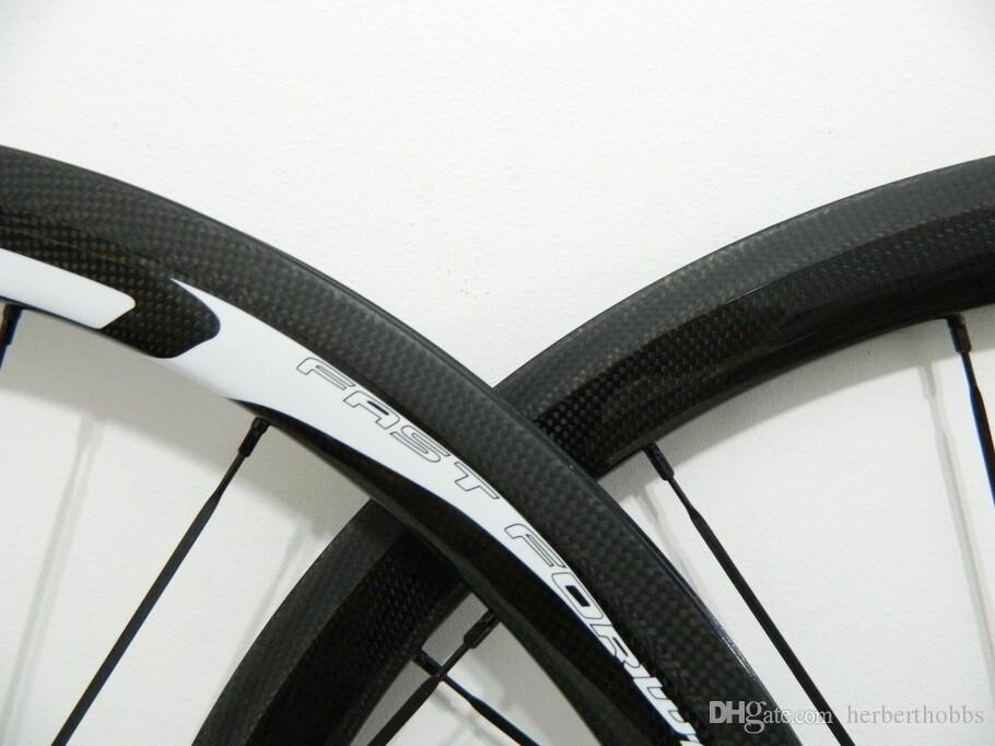Fast Forward Wheelset FFWD 50mm 3k/UD Glossy/ Matte Finish Body Carbon Tubular Aero Wheels Disc Hubs