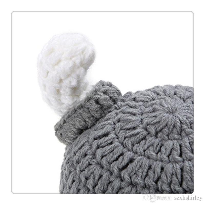 Berretto bebè neonato Cappello berretto fatto a mano neonato Cappuccetto berretti Cappello berretto bambini