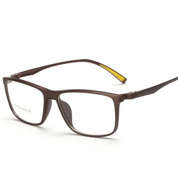 63ff82d6447 Wholesale- Oversized Men Square Optical Glasses Frame TR90 Glasses ...