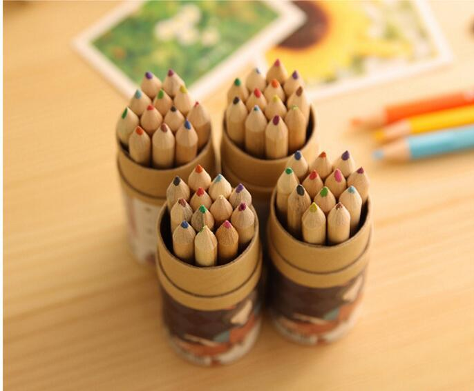 Painting Pencils Secret Garden Coloring Enchanted Forest Painting Pens Colored Pencil Creative Writing Tools Colouring Pencils