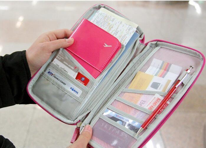 Путешествия обложка для паспорта бумажник Travelus многофункциональный кредитной карты пакет ID держатель для хранения организатор сцепления мешок денег DHL свободный корабль