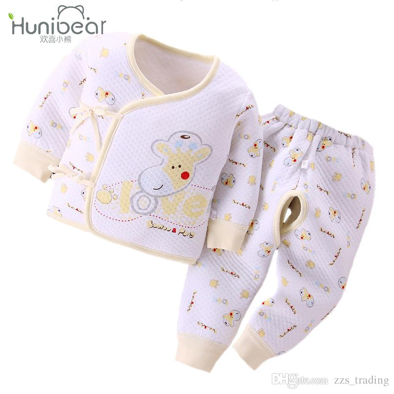 e358b3702ba3 2019 2017 Newborn Baby Sets Baby Girl Clothes Autumn Winter 0 3 ...