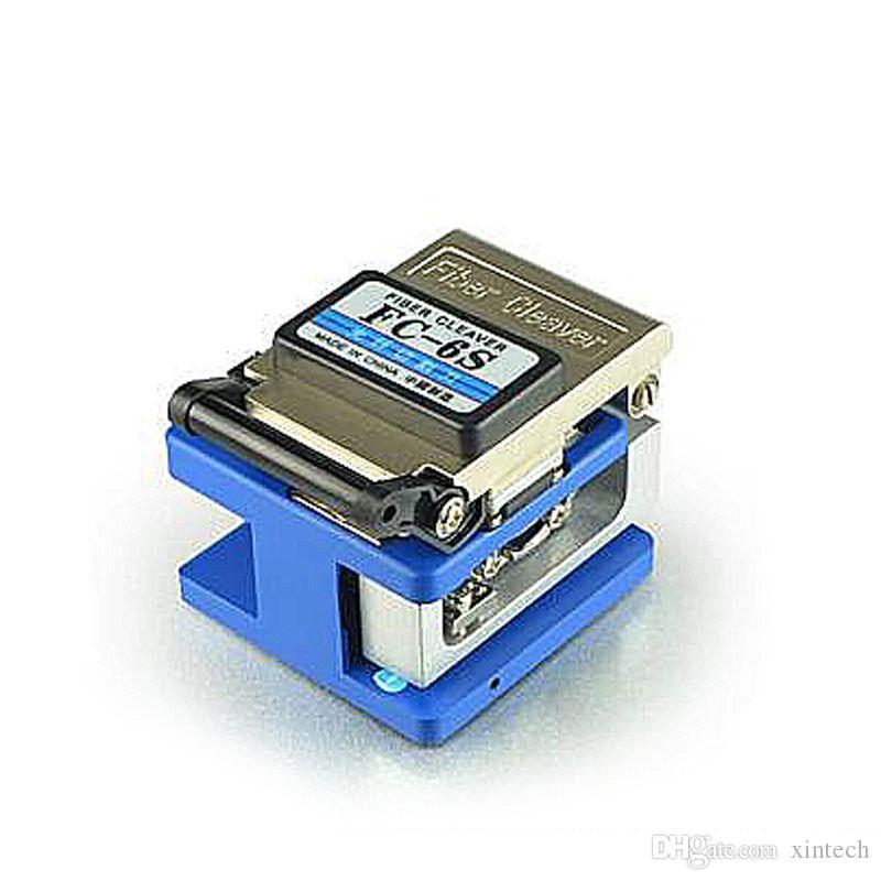 Nuevas herramientas de red Fiber Optic FTTH conjunto de herramientas con FC-6S Fiber Cleaver Medidor de potencia óptica 10Mw Visual Fault Locator cutting cutting blades