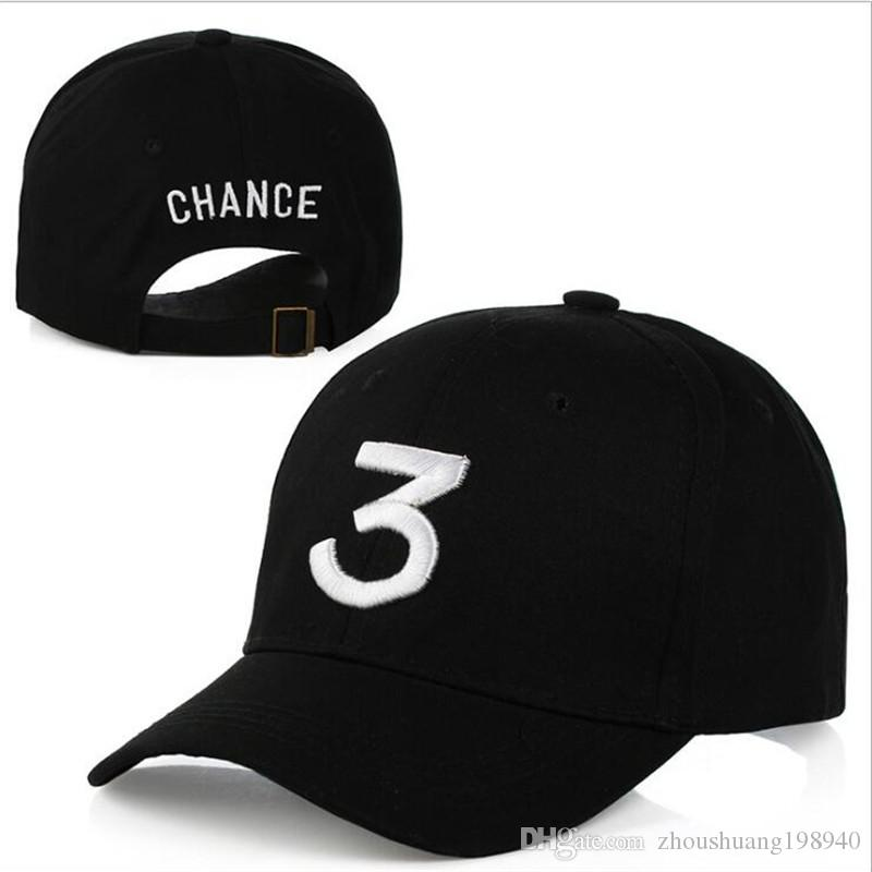 486e5fa6525 Popular Singer Chance The Rapper Chance 3 Cap Black Letter Embroidery Baseball  Cap Hip Hop Streetwear Snapback Gorras Casquette Online with  7.66 Piece on  ...