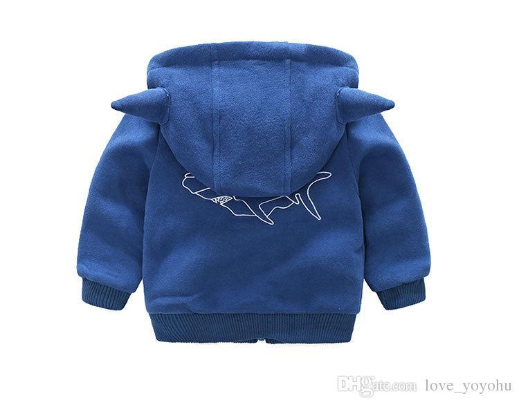 Ins Halloween vêtements garçons enfants zip-up devil hoodies âge 1-7 ans
