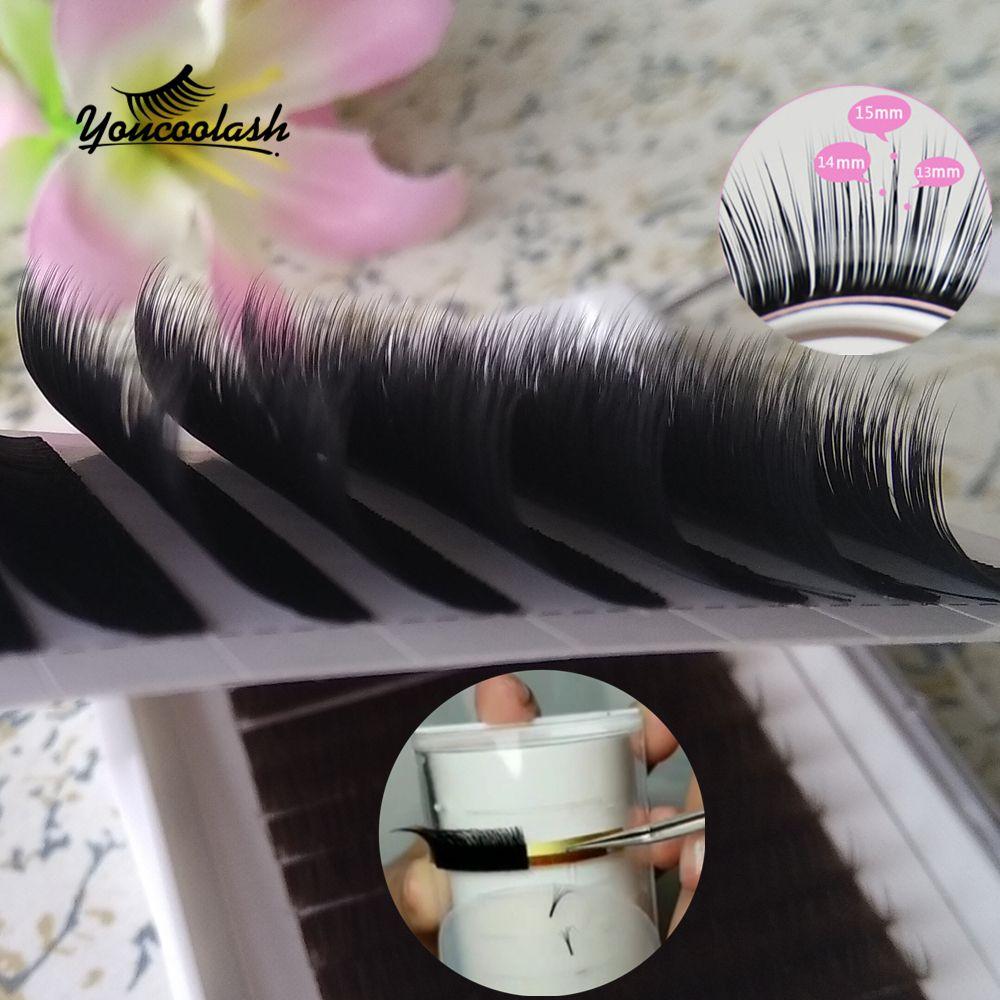 Camellia Eyelash Extension 007 Super Soft Volume Lashes Mixed