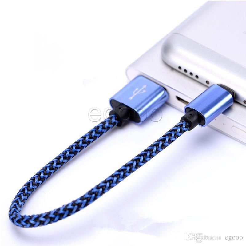 Geflochtenes Gewebe Micro-USB-Kabel 1M 3FT 2M 3M USB-Ladekabel für Samsung Galaxy S7 Edge-S6 Rand LG Handys