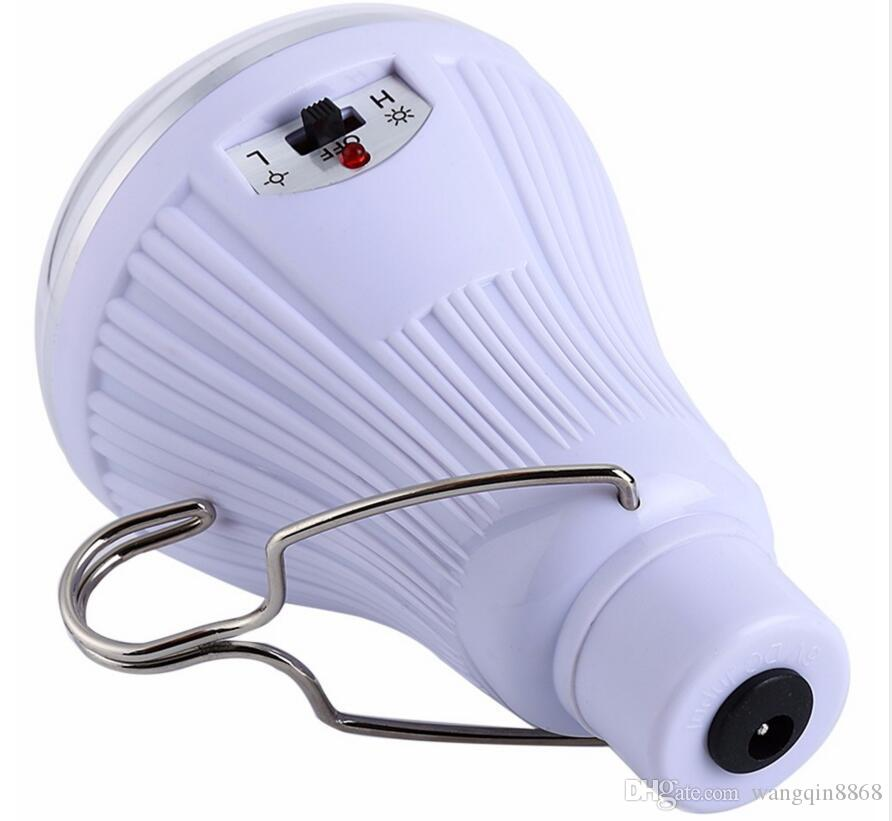Outdoor / Indoor de 20 LED Luz Solar Jardim Home Security Lamp Dimmable Led Solar lâmpada por controle remoto acampamento viagem Lighting