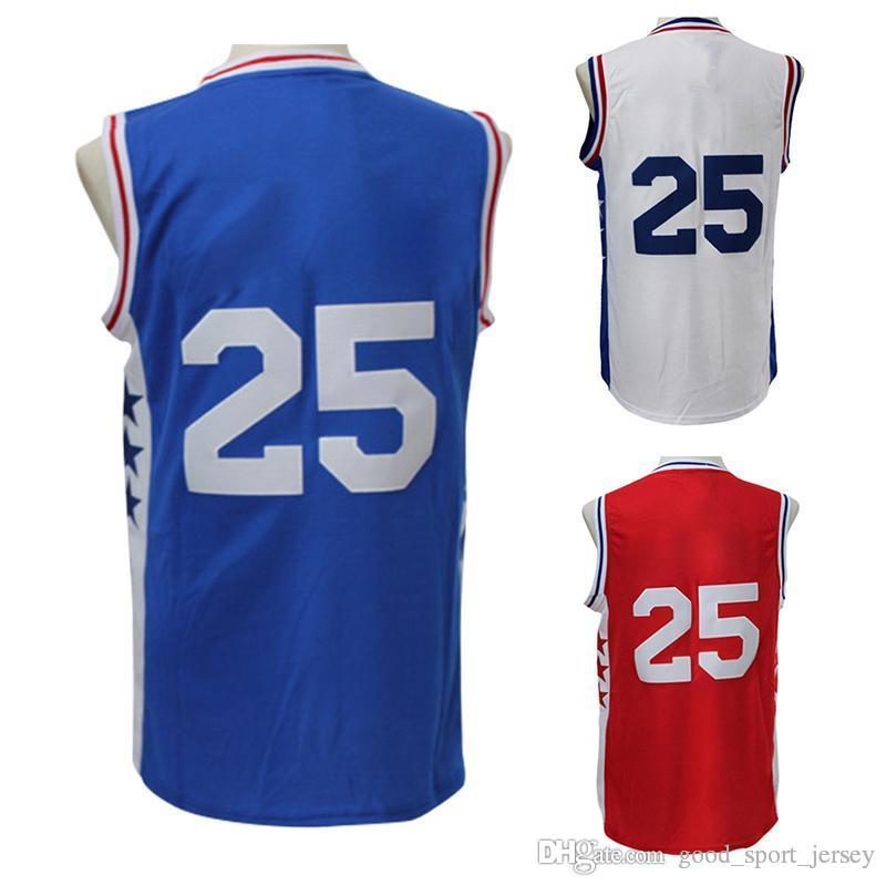 9263ec0a6 ... 2017 Wholesale MenS 25 Ben Simmons Jersey Adult 100% Stitched 25 Ben  Simmons Jersey Fast ...