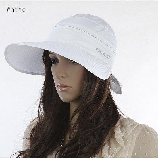 5fc115e59ad Wholesale- Women s Hats 2017 Summer Fashion Korean Style Bowknot Big Visor  Cap Color Matching Beach Sun Hat Chapeu Feminino Dropshipping Beach Sun  Hats Big ...