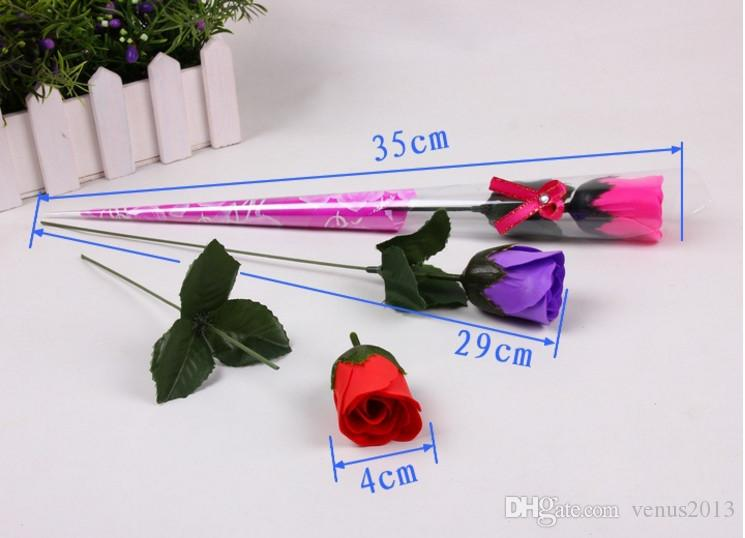 Flower Soaps Bath Body Rose Petal Wedding Favors Birthday Gifts Home Decoration Flower Soap Rose