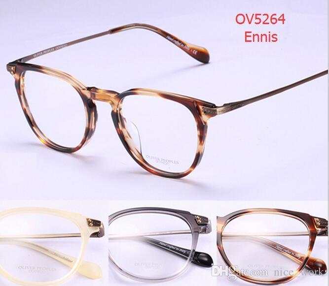 63a99e01d4 2019 Brand Glasses Optical Glasses Frame Oliver Peoples OV5264 Eyeglasses  Gregory Peck Eyeglasses For Women Men Eyewear Frames Original Case From  Nice work