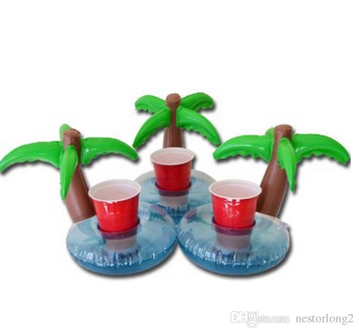 Новый надувной Плам Tree Пейте Pool Float Надувной Плам Tree Подстаканники Cola Beverage подстаканник Событие Рождество для вечеринок