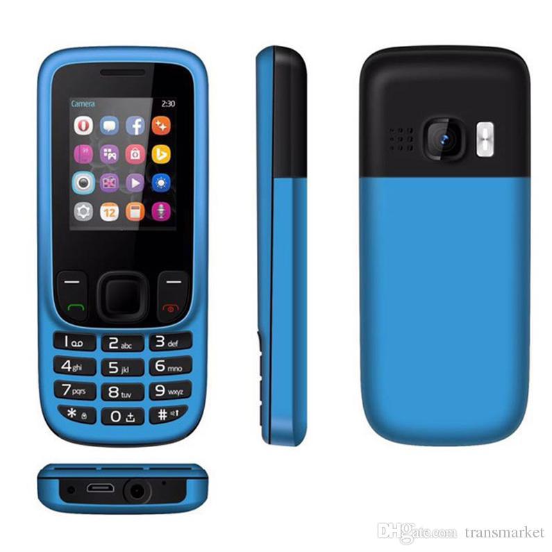Fashion 6303 Mobilephone Senior Man Mini Unlocked Cellphone Music Cellphone Cheap Phone Voice king keypad Big Seakers Mobilephone Hot Sale