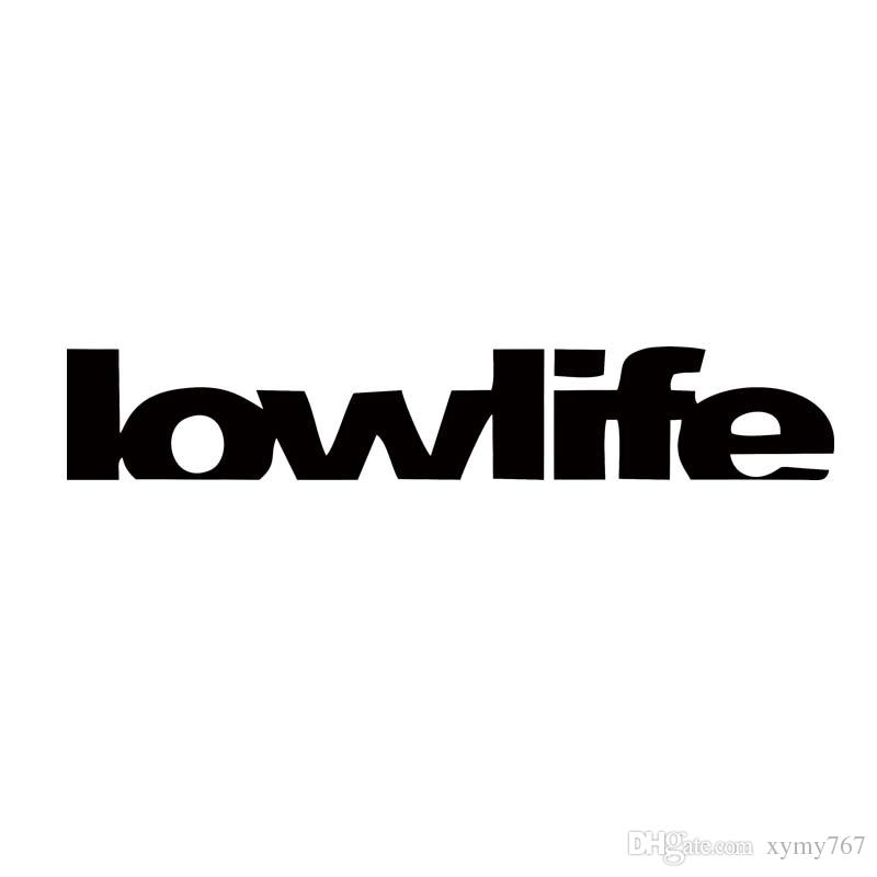 2019 New Product For Lowlife Sticker Die Cut Decal Self ...