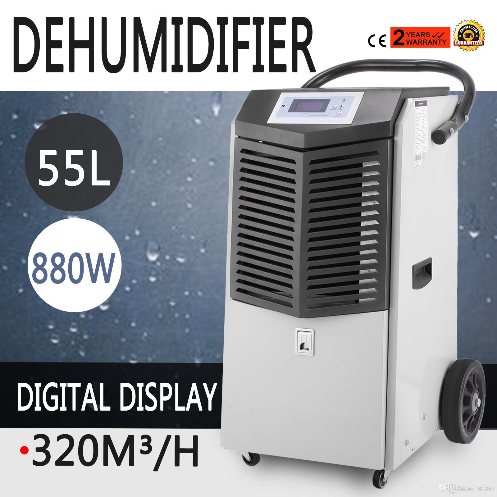 2018 Portable 55l/D Air Dehumidifier Reduce Moisture Mold Air Dryer Low  Noise From Sihao, $517.59 | Dhgate.Com