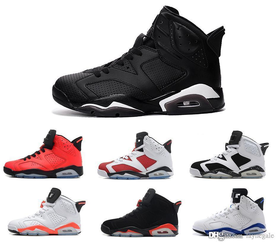 2018 New Infrared Shoes 6s Men Basketball Shoe Sneakers Vi Black Cat