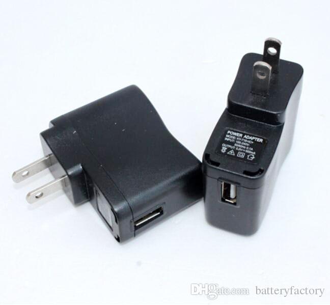 EGO 벽 충전기 블랙 USB AC 전원 공급 장치 벽 어댑터 MP3 충전기 EGO 배터리 MP3 MP4 블랙에 대한 MP3 충전기 미국 플러그 작업