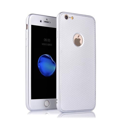 lüks Ultra ince 360 Derece TPU Tam Kapak Koruyucu Kılıf iPhone 7 7plus 6 6S 6Plus 5S Vaka Stok Darbeye