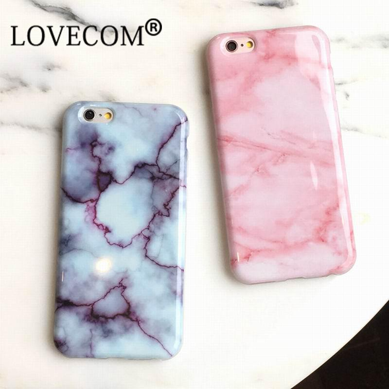 New Wine Red Pink Marble Soft TPU Case For IPhone 7 For IPhone 6 6S 7 Plus  Stylish Cute Unique Phone Cover Cases Girls Coque Cell Phones Cases Custom  Cell ... 1450c5126