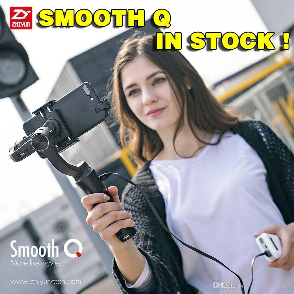 Zhiyun Smooth Q 3 Axis Handheld Gimbal Stabilizer For Smartphone Tech Ii Smartphones Action Camera Phone Portable Sjcam Cam Pk Feiyu Dji Osmo