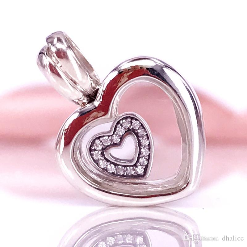 2019 Wholesale Authentic 925 Sterling Silver Pandora Heart Locket