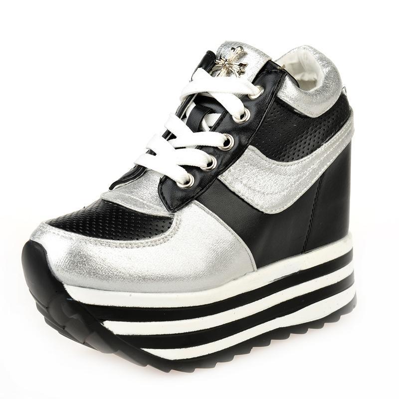 high wedge sneakers