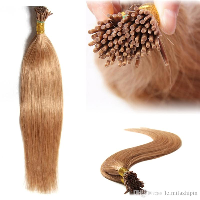 Resika I Tip Hair 22 Inch Indian I Tip Remy Human Hair Pre Bonded