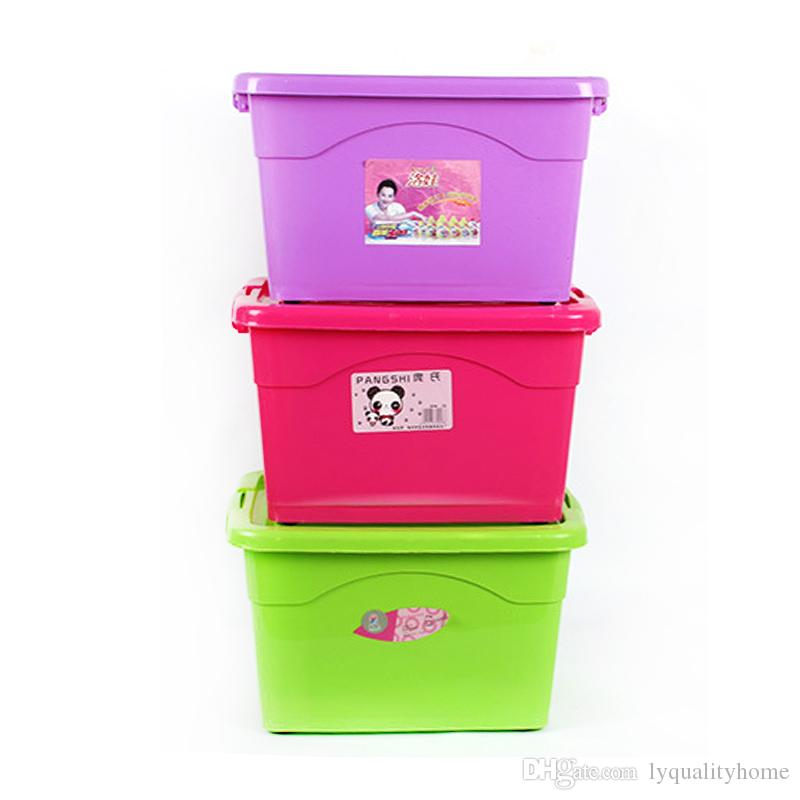5l plastic storage box multicolor clothes large storage boxes box friendly living room bedroom covered storage box from