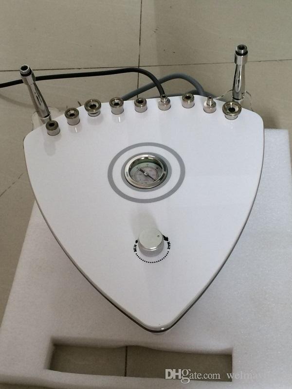 macchina di microdermoabrasione della macchina del getto del diamante del microdermoabrasion della macchina portatile di bellezza