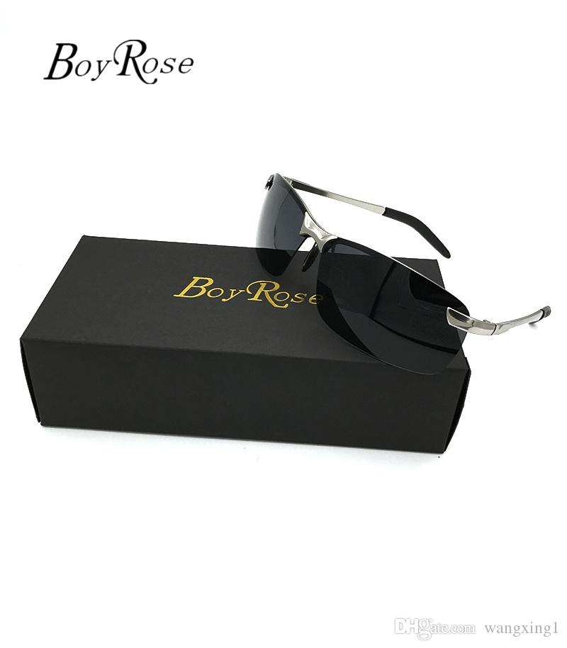 ca3b7c9df8 Brand BoyRose 68MM Black Lenses Luxury Sun Glasses Fashion Evidence ...