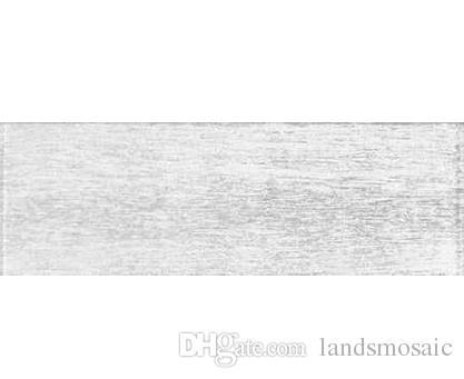 White Subway Fliesen Glasmosaik Wandfliesen, Beliebte Nachahmung  Holzmaserung Badezimmer / Küche Backsplash Glas U Bahn Fliesen, Lsgt1305  Von Landsmosaic, ...