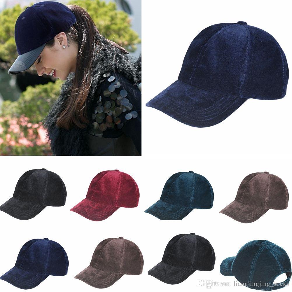 4362f1980b2 Velvet Hat Snapback For Women Men Snapbacks Womens Mens Baseball Cap Sport  Hats Fashion Hip Hop Caps Adult Snap Back YYA513 Mens Hats Baseball Cap  From ...