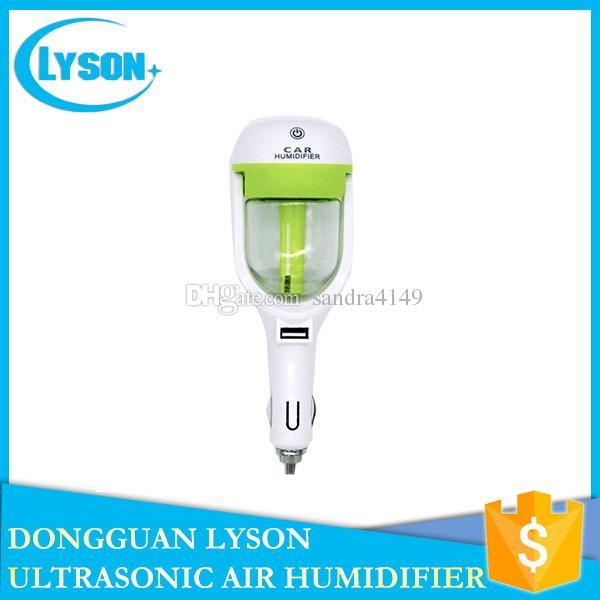 2017 New USB Car Plug Air Humidifier Purifier Vehicular Power Fragrance ultrasonic Cool Mist Humidifier Car Aroma Diffuser