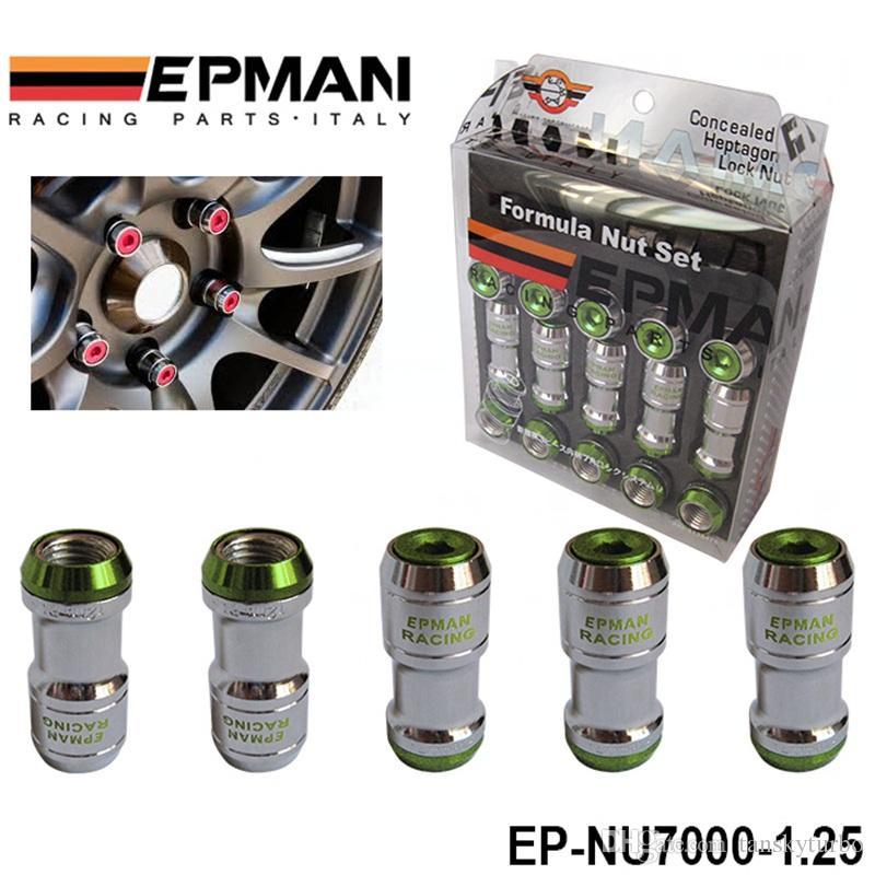 Authentische Epman Racing Nase Radmuttern Schraube M12 x 1,25 Auto Für Toyota Für Volk Rays Stey Red EP-NU7000-1.25