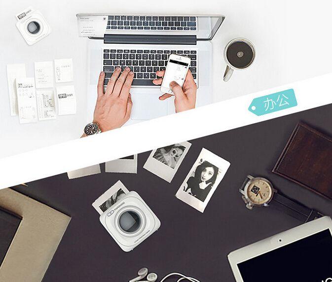 크리 에이 티브 기술 선물 제품 Paperang P1 프린터 휴대용 블루투스 4.0 프린터 전화 무선 연결 프린터 가족 및 친구
