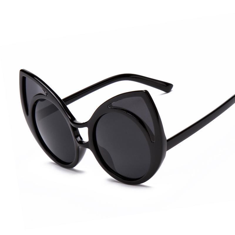 Wholesale-summer Style Cat Eye Sunglasses Points Women Vintage Shopping  Oversized Glasses Oculos De Sol Faminino S15030 Zonnebril Cat Eye  Sunglasses Eye ... a410c4034b