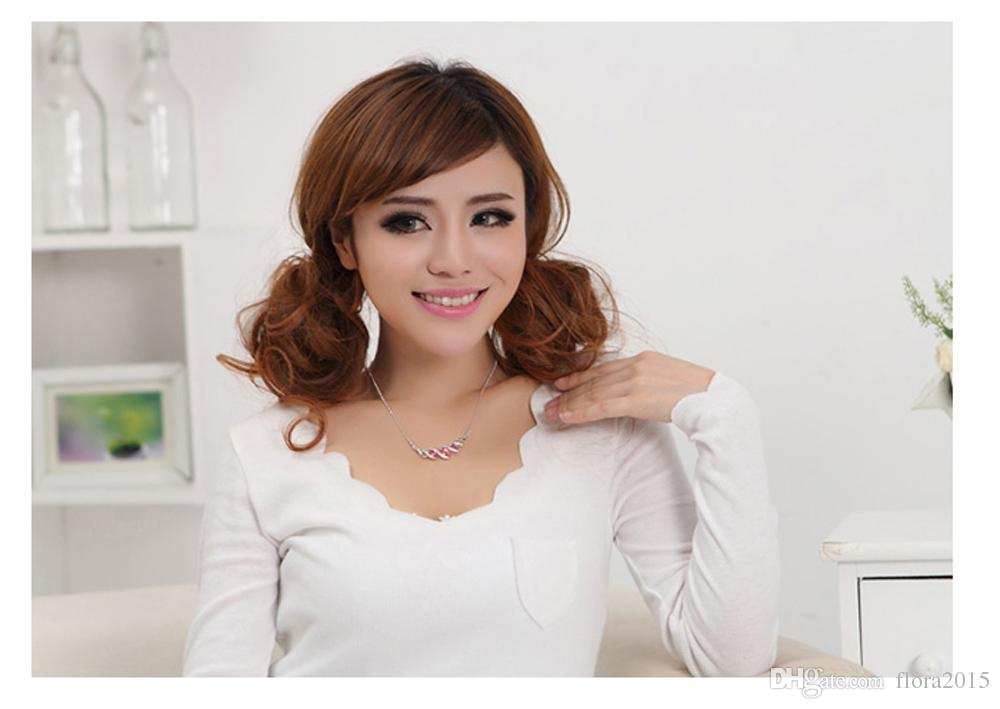 New fashion brands crystal statement collar necklace made with Swarovski elements crystal women wedding jewelry Mother's gift