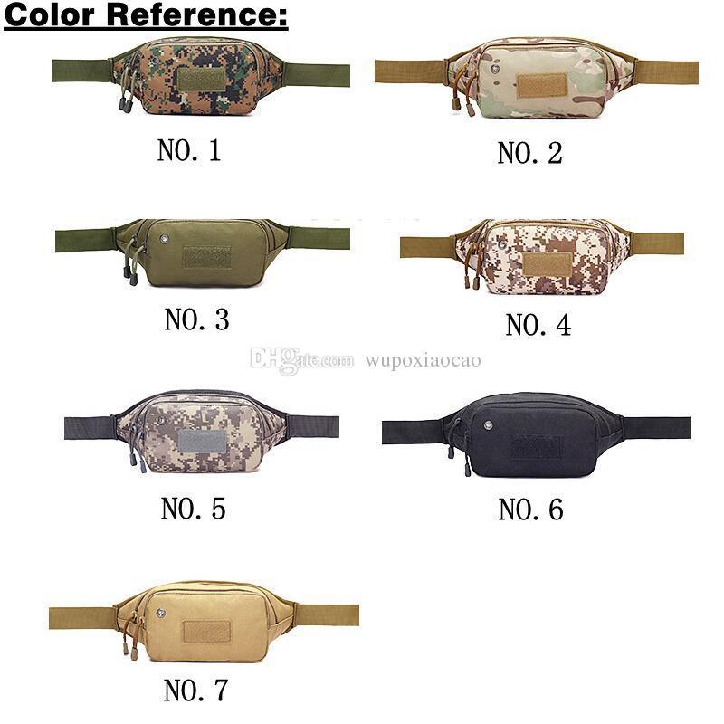 Outdoor Tactical Holster militar Molle Hip cinto Bolsa Carteira Bolsa de telefone bolsa com zíper para iPhone6 7 novos