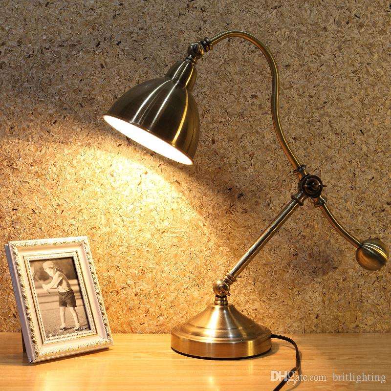 Elegant 2018 Bedside Reading Light Antique Led Table Lamps Led Desk Lights Bedroom Study fice Work Lamps Led Eye Protection Decorative Reading Lamps From Photos - Model Of reading light Idea