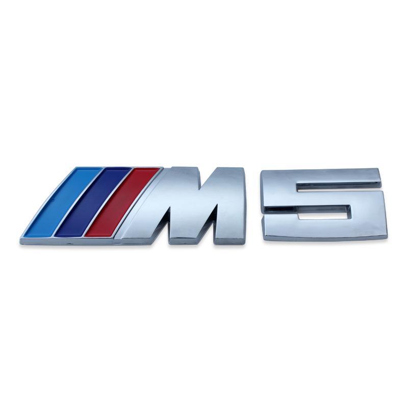 50 قطعة / الوحدة الأزرق كحلي أحمر شعار شارة جذع السيارات شعار ملصق مائي لسيارات bmw / / m5 528i 535i 550i مجانية