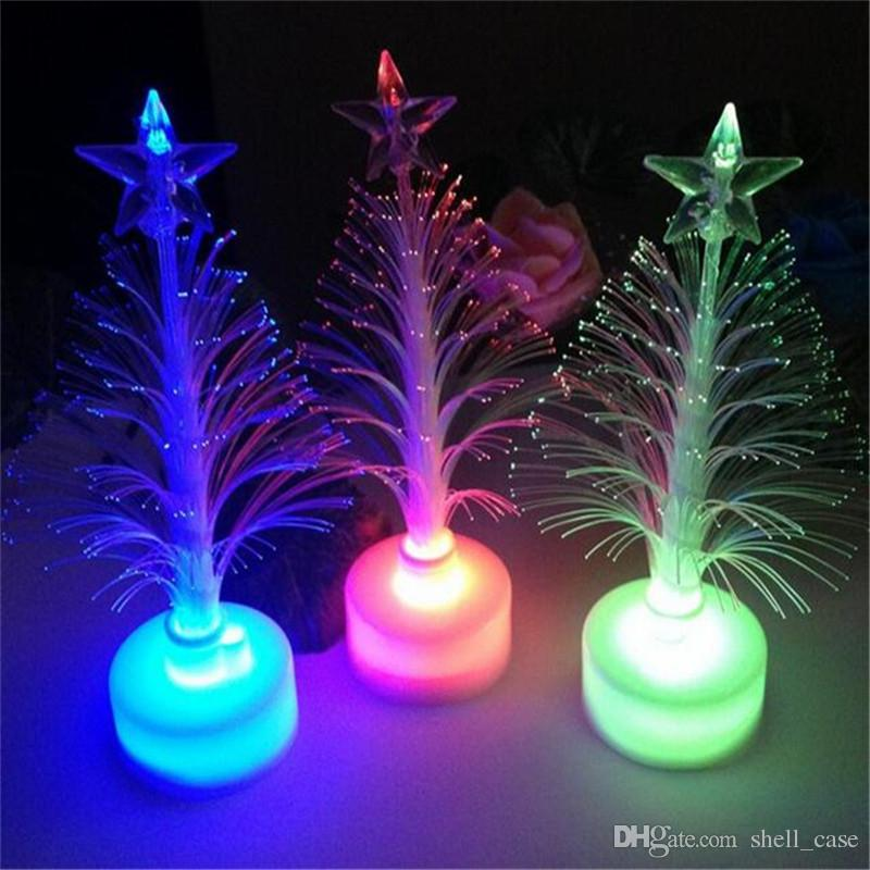 best led christmas tree light outdoor indoor flashing xmas tree nightlight lamp colorful luminous christmas new year decorations ornaments dhl under 087