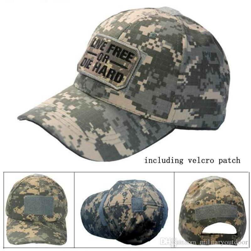 VC-18 Men Women summer Baseball Cap with patch Tactical Cap Sun Hat Outdoor Hunting Camping special forces military hats ACU
