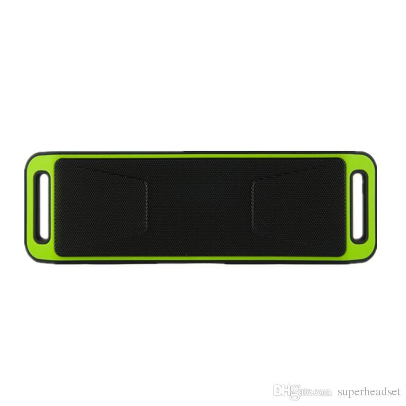 SC208 Mini Taşınabilir kablosuz Bluetooth Hoparlör Sıcak Satış Kablosuz Yüksek sesle Müzik Çalar Büyük Güç Subwoofer Destek TF USB FM Radyo