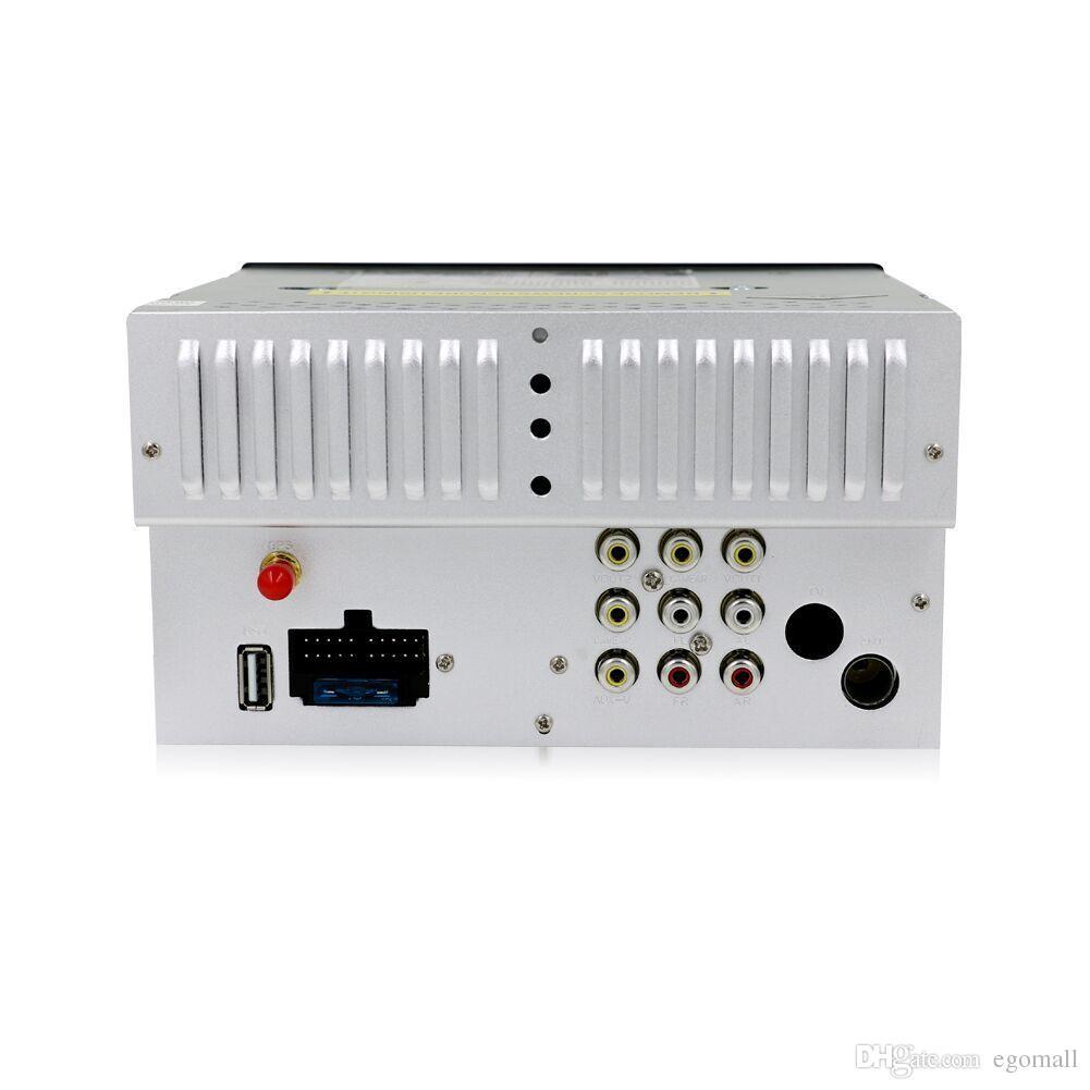 100% Nuova autoradio universale Doppia 2 din Lettore DVD auto Navigazione GPS In dash Car PC Stereo Head Unità video + Free Map