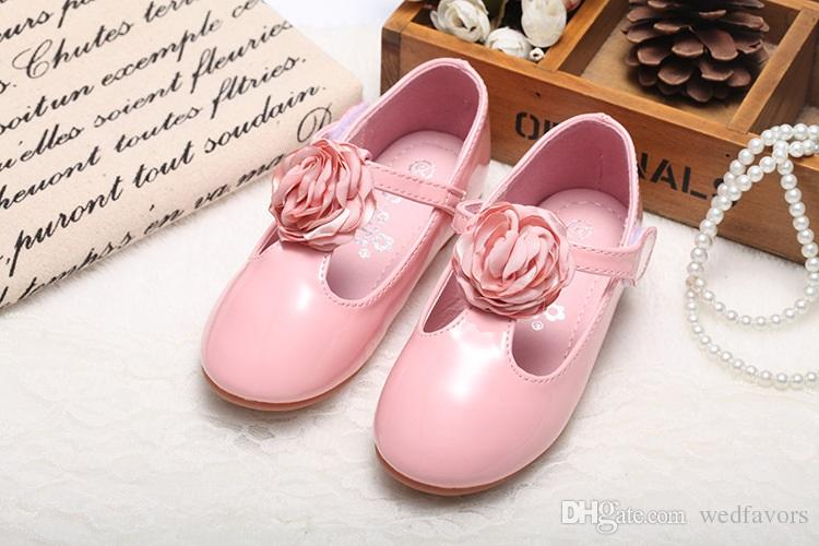 most hot sale popular female baby shoes flower T shoes Girls' Shoes Kids' Accessories Wholesaler