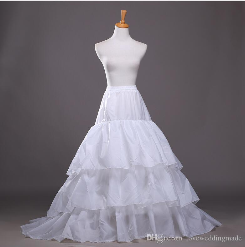 Wedding Dress Bridal Petticoat 7 Hoop Underskirt White Prom Super Big Skirt